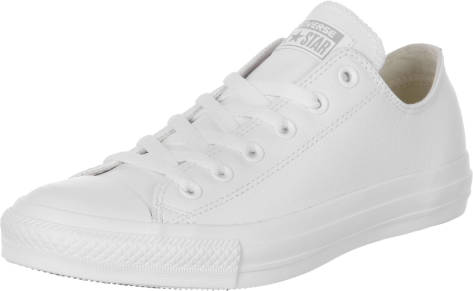 Converse Chuck Taylor All Star Ox Leather (136823C) weiss