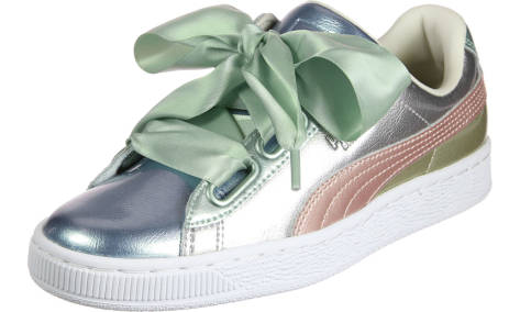 Puma Basket Heart Bauble FM (364809 01) grau