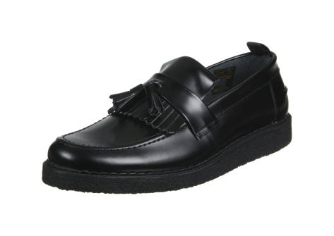Fred Perry Fs x Gc Tassel Loafer Leather (B8278102) schwarz