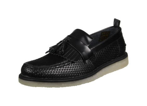 Fred Perry Fs x Gc Tassel Loafer Perf Leather (B2272102) schwarz