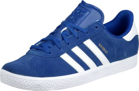 adidas Originals Gazelle 2 J White (BA9317) blau