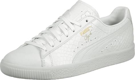 Puma Clyde Dressed (361704 0002) weiss
