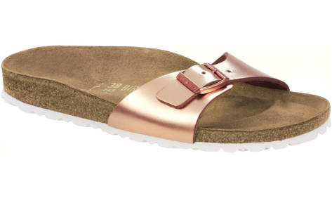 Birkenstock Madrid Metallic (1005051) braun
