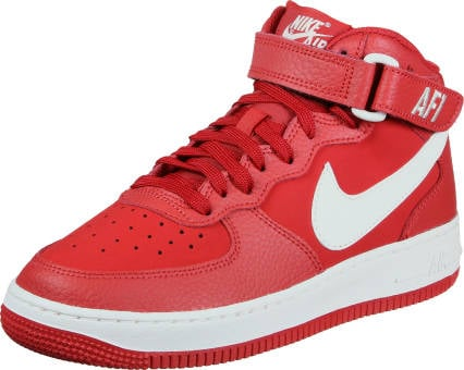 Nike Air Force 1 Mid Gs (314195-604) rot