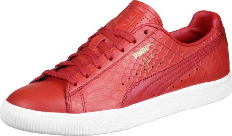 Puma Clyde Dressed (361704 0003) rot