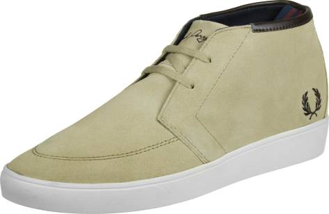 Fred Perry Shield Mid Suede (B9151938) braun