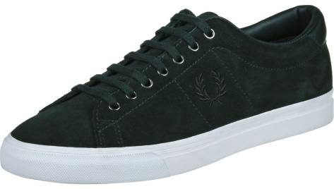 Fred Perry Underspin Suede (B9091C97) schwarz