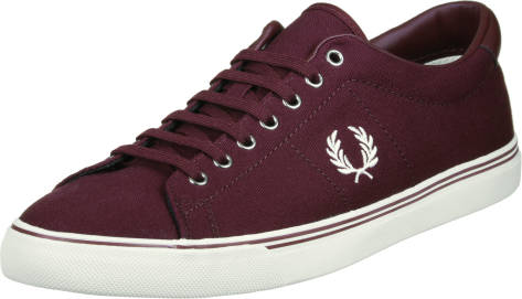 Fred Perry Underspin Canvas Casual (B9090122) rot