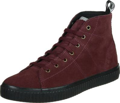 Fred Perry Ellesmere Mid Suede W (B9108WB48) rot