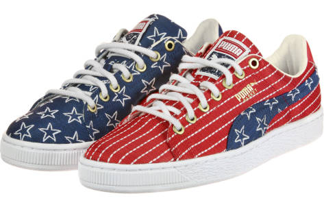 PUMA Basket Classic 4th Of July FM (364778-01) bunt