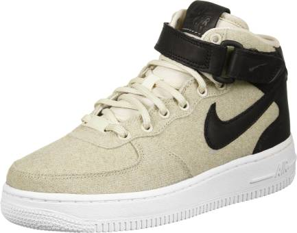 Nike Wmns Air Force 1 07 Mid Leather Premium (857666 100) bunt