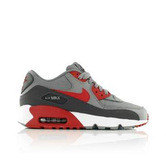 Nike air max 90 mesh gs (833418-007) grau