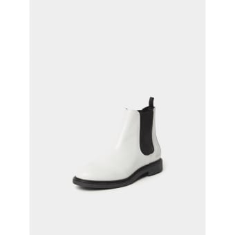 Axel Arigato Chelsea Boots mit Brand-Detail (89004) weiss