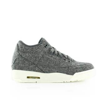 NIKE JORDAN Air 3 Retro Wool GS (861427-004) grau