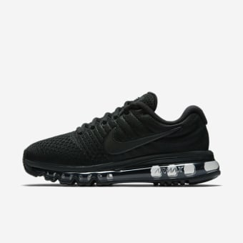 nike air max 2017 black weiß