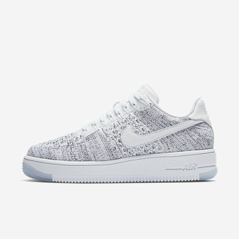 Nike Wmns Air Force 1 Flyknit Low (820256-103) weiss