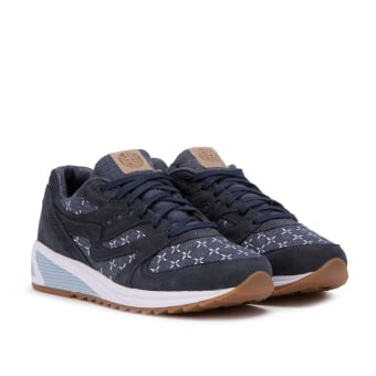 Saucony x UP Grid THERE 8000 Sashiko (S70400-1) blau