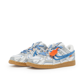 Nike Off-White Rubber Dunk (PS) (CW7410-100) weiss