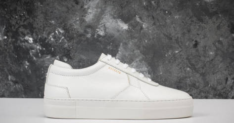 Axel Arigato Sneaker mit Plateausohle (94017) weiss