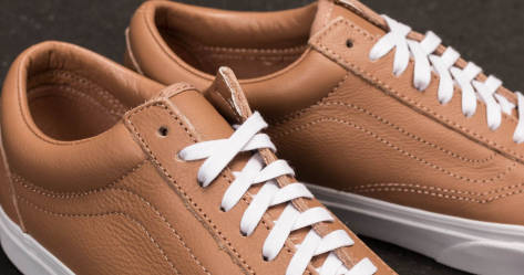 Kaufen Sie Ihre Lieblings Aus Deutschland Freies Verschiffen Des Niedrigen Preises Vans Old Skool (Leather) Tawny Brown/ True White braun GCcvi