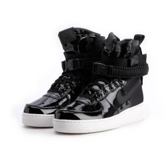Nike Wmns Air SF Force 1 SE PRM (AJ0963-001) schwarz
