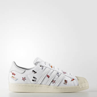 adidas Originals Superstar 80s W (BZ0650) weiss