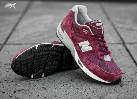 New Balance m991ebs *Made in England* (M991EBS) rot