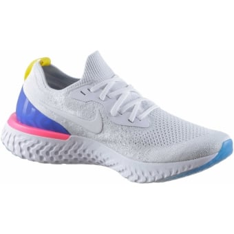 Auslass Amazon Nike Epic React Flyknit weiss Freiraum 100% Original 7Vlj7DKS