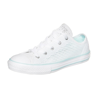 Converse Chuck Taylor All Star Double Tongue OX (651810C) weiss