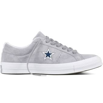 Converse One Star Suede Ox Molded (159733C) grau