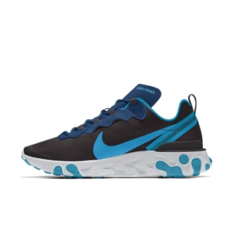 Nike React Element 55 By You (CJ1496-991) weiss
