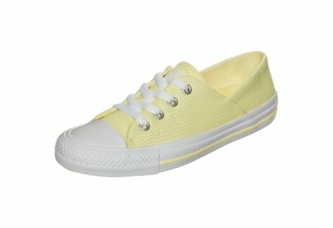 Converse Chuck Taylor All Star Coral Micro Dot Knit OX (555896C) gelb