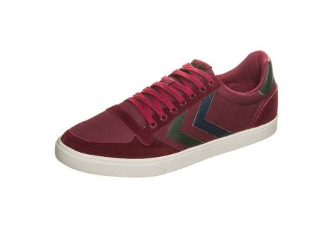 HUMMEL Slimmer Stadil Duo Canvas Low (065144-3661) rot
