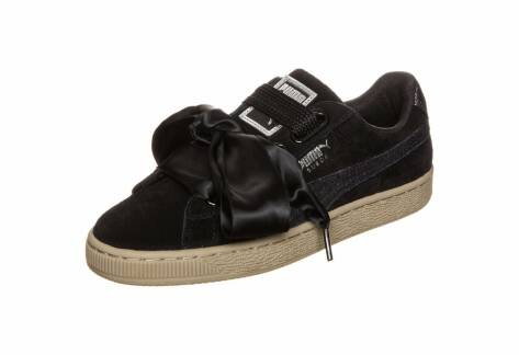 Puma Suede Heart Safari black (36408303) schwarz