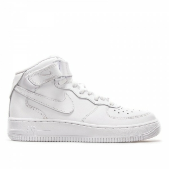 Nike Air Force 1 Mid GS (314195 113) weiss