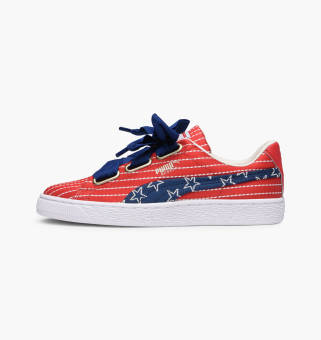 Puma Basket Heart 4th Of July FM Wns (364808-01) blau
