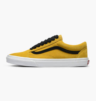 gelb vans old school