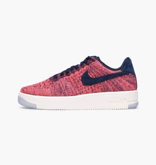 Nike Wmns Air Force 1 Flyknit Low (820256-401) pink