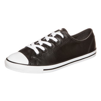 Converse All Star Dainty Leather Ox W (537107C) schwarz