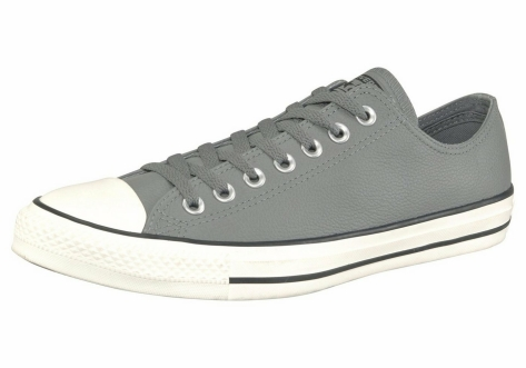 Converse Chuck Taylor All Star Tumble Leather Ox (157569C) grau