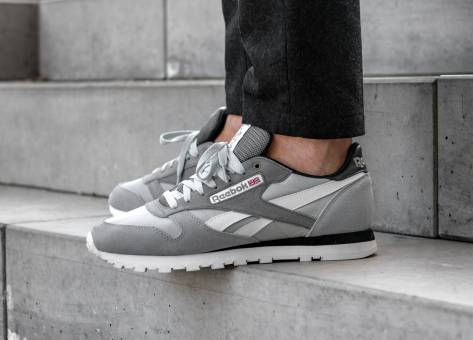 Reebok Classic Leather MCCS in grau - CM9612  87ec32b47