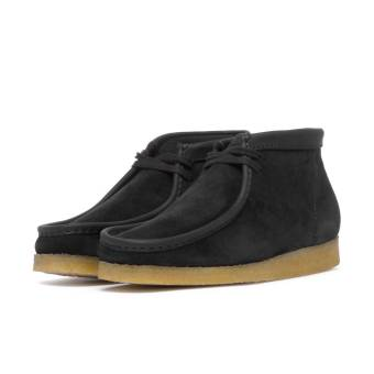 Clarks Wallabee Boot Made in Italy (SFS60645200035_ITALY) schwarz