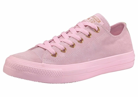 Converse Chuck Taylor All Star Tonal P. Suede Ox (161204C) pink