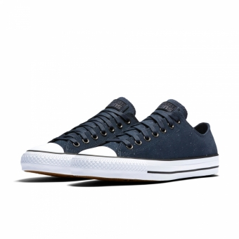 Converse Cons CTAS Pro Ox Peppered Suede - Blue (155512C-412) blau