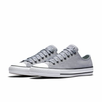 Converse Cons CTAS Pro Ox Peppered Suede - Grey (155513C-466) grau