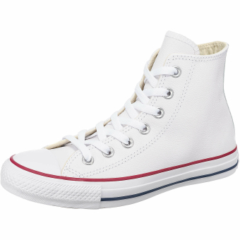 Converse Chuck Taylor All Star Hi Leather (132169C) weiss