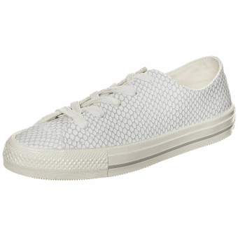 Converse All Star Gemma Ox Scaled Leather (555807C) weiss