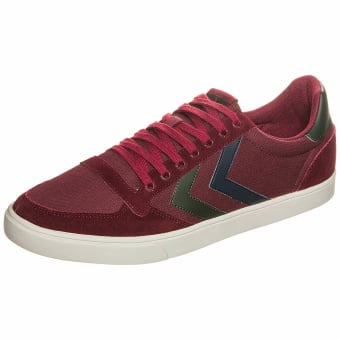 HUMMEL Slimmer Stadil Duo Low Canvas (065144-3661) rot