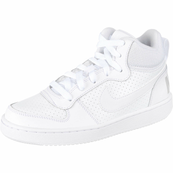 Nike Court Borough Mid (839977-100) weiss