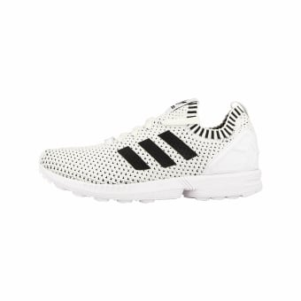 adidas Originals ZX Flux Primeknit White Core Black (BA7374) weiss